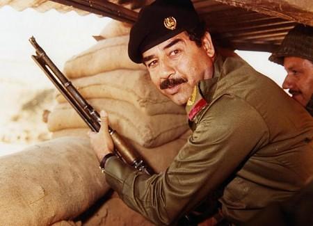 Saddam Hussein, folkmördare och allmän bad guy.