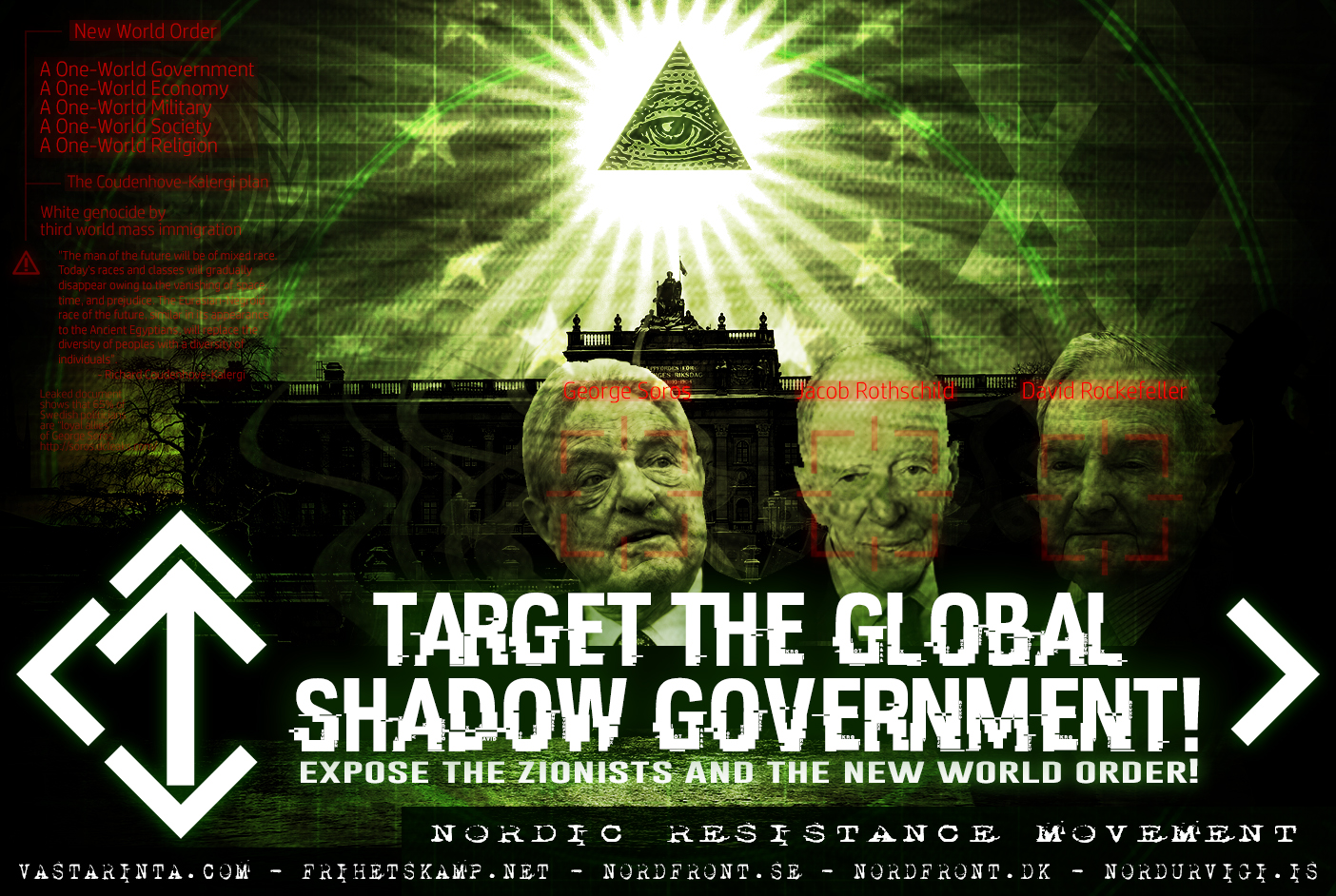 target the zionists