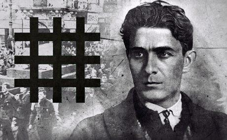 Martyren Corneliu Codreanu gav sitt liv för den nationalistiska kampen.