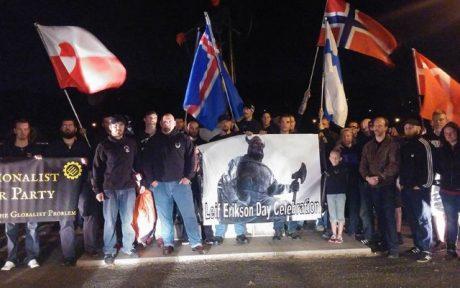 TWP uppmärksammar Leif Eriksson-dagen i Philadelphia tillsammans med andra nationalister.
