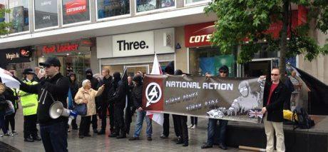 National Action under ett torgmöte.