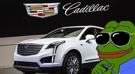Cadillac var nära att bli grodan Pepes favoritbil.