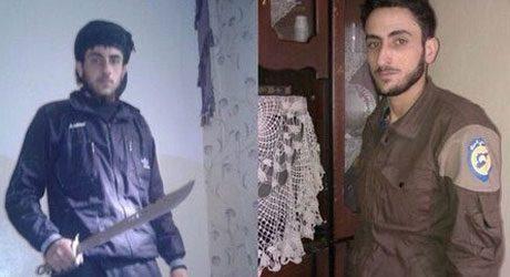 Islamistisk hjälparbetare redo att halshugga civila med fel åsikter.