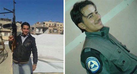 Terrorist och deltidsarbetande hjälparbetare.