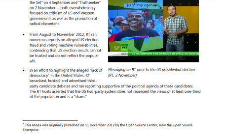 Skärmdump från rapporten,