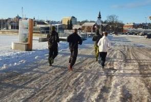 Träning i Hudiksvall