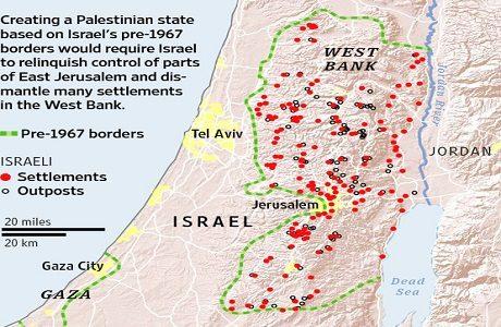 Israel bosättningar