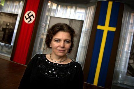 """Helene Lööw, ännu en som går igång på fantasierna om en """"svensk förintelse""""."""