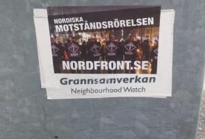 Klistermärkesvår i Umeå