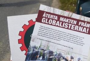 Propagandaspridning i Örnsköldsviks kommun