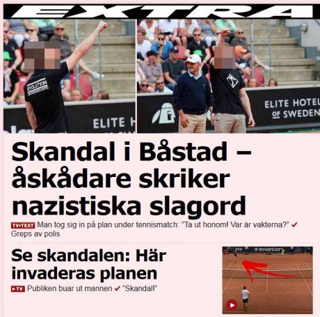 Historisk seger i swedish open
