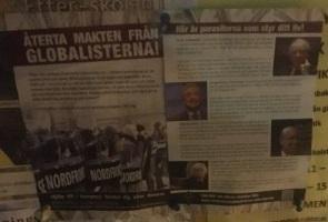 Propagandaspridning i Nyköpings kommun