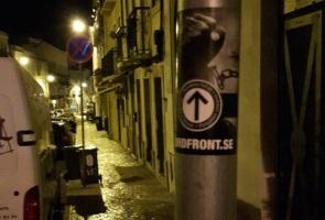 Klistermärkesuppsättning i Portugal