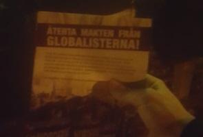 Propagandaspridning i Vimmerby kommun