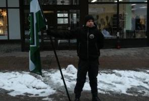 Värnamo lystes upp av nationalsocialism i vintermörkret