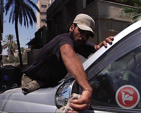 Palestinier gripna av israelisk militar