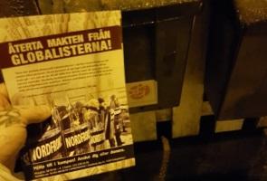 Motståndsrörelsen tänker återta makten från globalisterna – Karlskronabor informerade