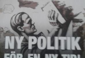 Motståndsrörelsen bygger ett nytt samhälle – Borlängebor informerade