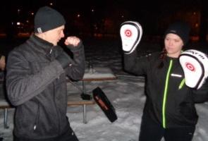 Kampsportsträning i Skövde