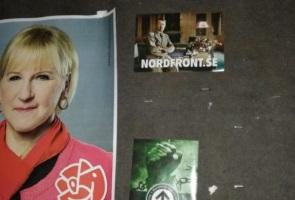 Folket reser sig mot förrädarna – rapport från Karlsborg