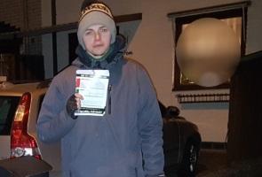 Valinformation spreds i Hässleholm