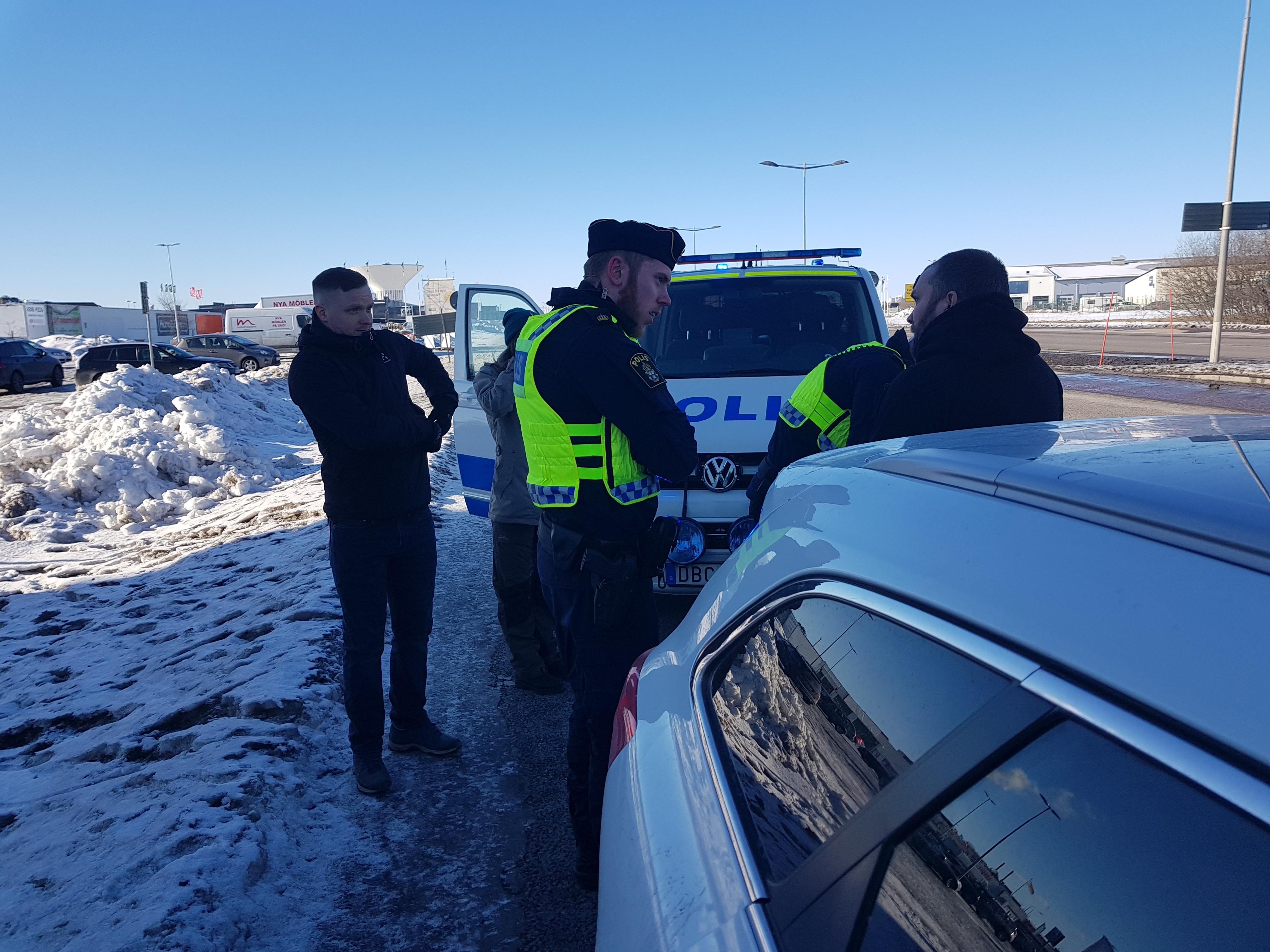 Polisens nya order skydda stan