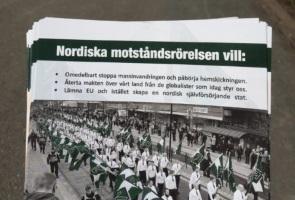 Flygbladsutdelning i villakvarter – Sävsjö