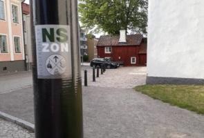 Västervik förskönades med nationalsocialism