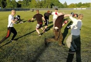 Träning och gruppmöte i Nyköping