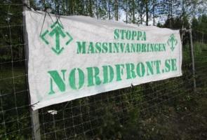 Banderoll inför cruising – Luleå