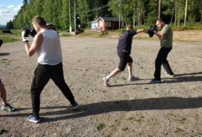 Kampsportsträning i Ludvika kommun