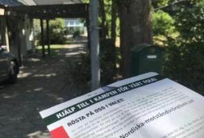 Exklusivt område fick information i Danderyds kommun