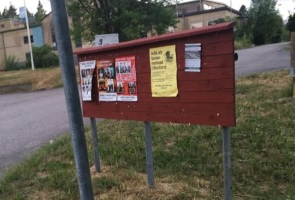 Valflygbladsutdelning i Uppvidinge- samt Vetlanda kommun