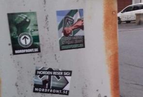 Sympatisörer bedriver aktivism i Eskilstuna