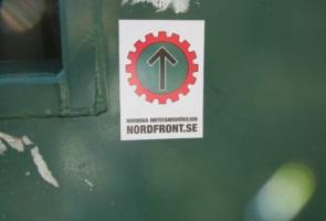 Klistermärken i Luleå