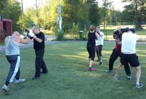 Gruppmöte med efterföljande träningspass – Kampgrupp 205