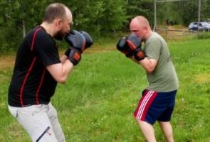 Kampsportsträning och social aktivitet i Skellefteå