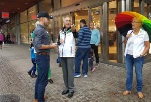 Näste 1 upplyste AfS-anhängare i Södertälje