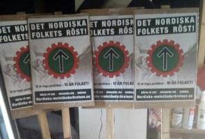 Banderoller och valplakat tillverkades – Vellinge kommun