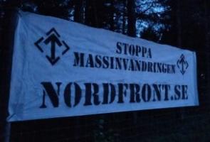 Banderoller uppsatta mellan Luleå och Boden