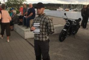 Offentlig aktion i Nyköpings hamn