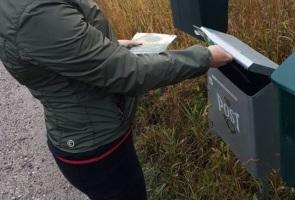 Valsedlar till Nyköpings landsbygd