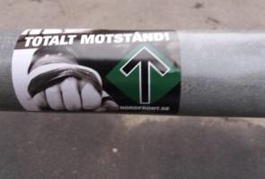 Propaganda uppsatt i Norrköping