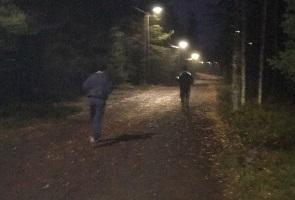 Gemensam löpträning i Luleå