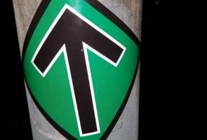 Sympatisörer i Eskilstuna drar sitt strå till stacken