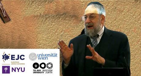 Judiska ledare diskuterar eu