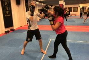 Sympatisörer, passiva- och aktiva medlemmar tränade tillsammans i Näste 1