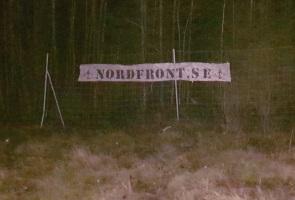 Nordfront-reklam för trafikanter i Vimmerby