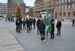 Offentlig aktion i Eskilstuna