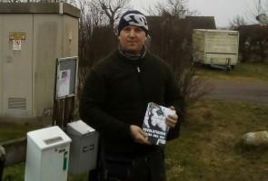 Mer aktivism i Trelleborg, denna gång täcktes småbyar